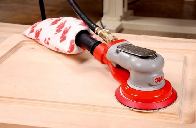 Как проводить шлифовку  кухонной мебели своими руками