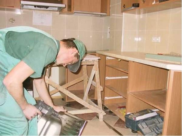 Все для сборки кухни