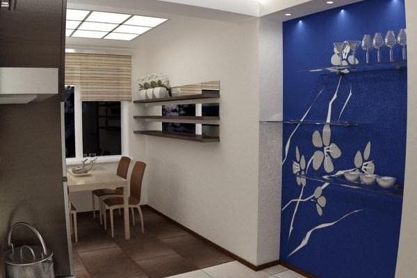 Дизайн ниши кухни