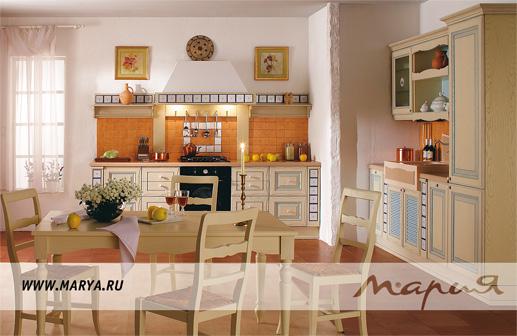 Классическая кухня от фабрики мария