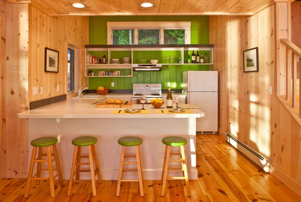 Обшивка стен на кухне
