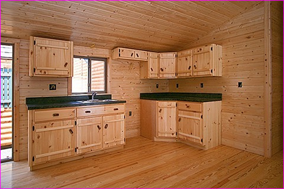 Вагонка в дизайне кухни