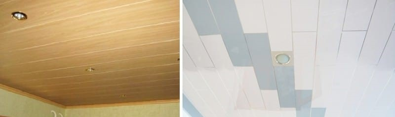 Другие способы обшивки потолка в кухне