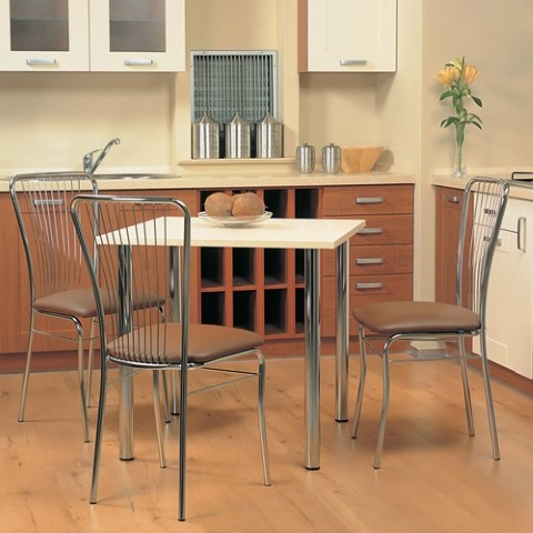 стулья кухонные металлические