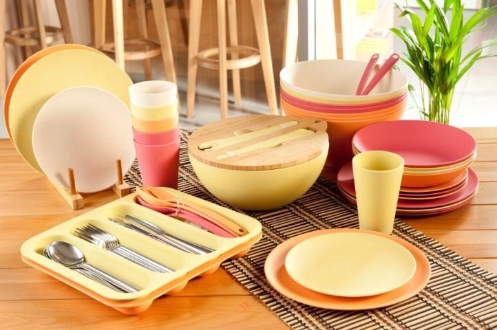 посуда бамбуковая