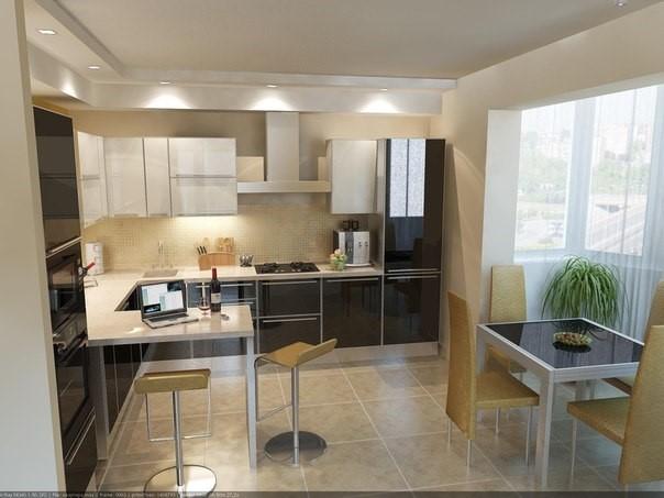 кухни 20 кв м фото