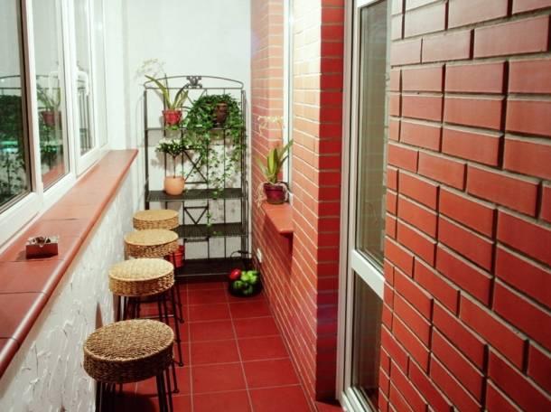 Отделка балконов вагонкой, мдф-панелями, плиткой и искусстве.