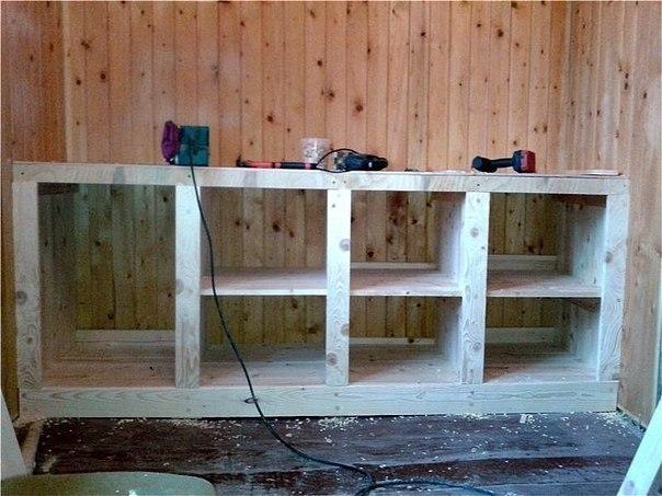 Мебель для летней кухни своими руками фото