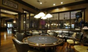 Современный дизайн комнаты для покера