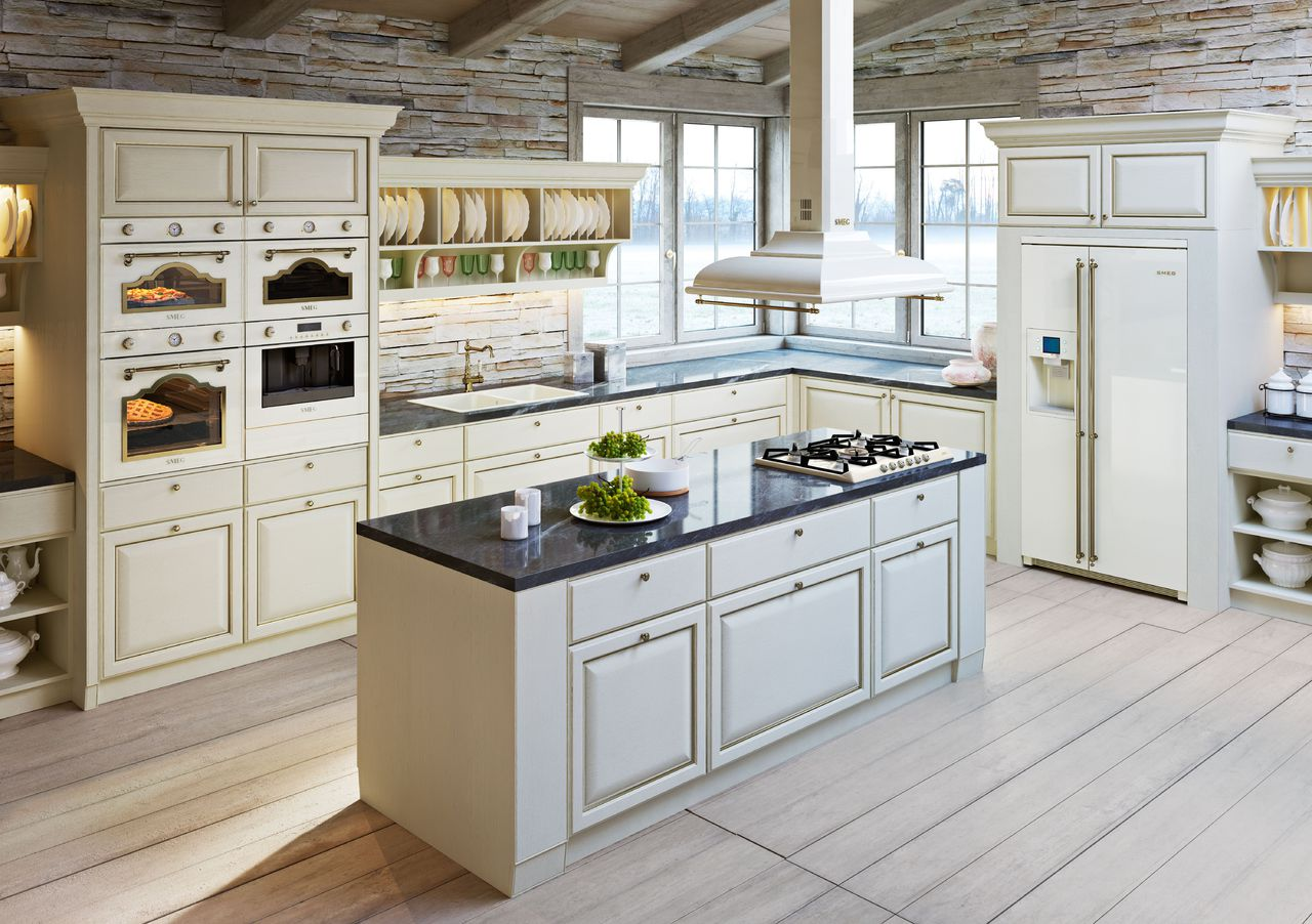 100 лучших идей: кухни со встроенной техникой фото
