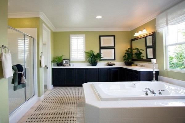 Дизайн интерьера. Ванная комната