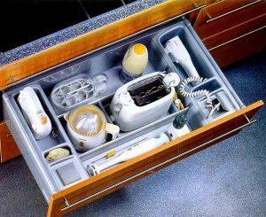 Система хранения предметов на кухне
