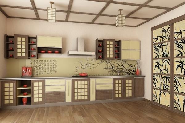Дизайн кухни в восточном стиле – создайте свою сказку
