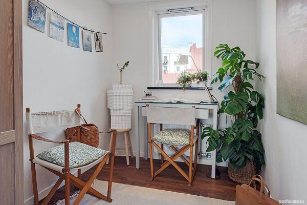 Шведский стиль в интерьере квартиры
