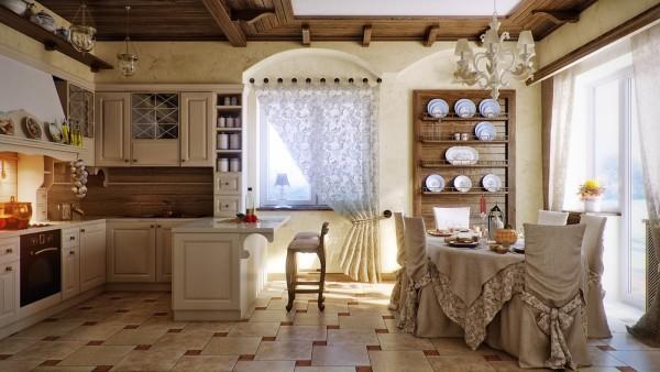 Как сделать интерьер кухни в стиле прованс