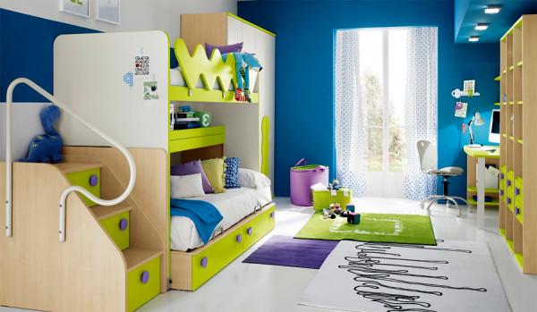 Цветовые решения для детской комнаты.
