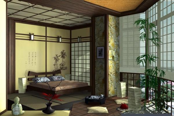 Стиль по-японски в интерьере