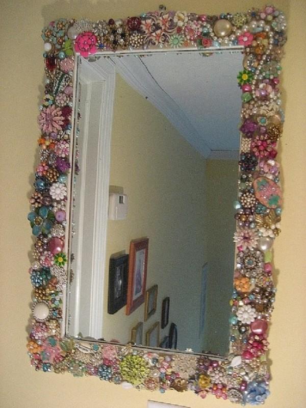 Декор зеркала