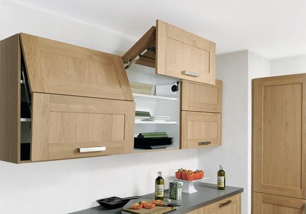 Выбор систем хранения для кухни
