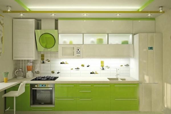 Белая кухня в интерьере – сочетание стиля и практичности