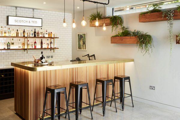 Кухня в стиле бара – создаем свой комфорт